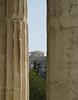 Parthenon through columns of Thession  [Athens]