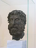 """Archeology Museum - bronze """"Head of the Philospher"""" from Antikythira (3rd cent. BC)  [Athens]"""